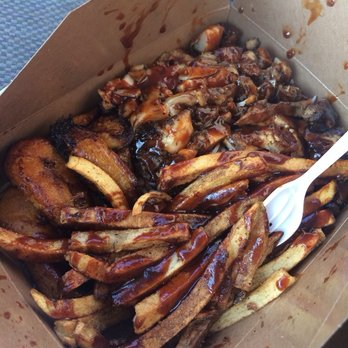 Jerk Chicken Loaded Fries